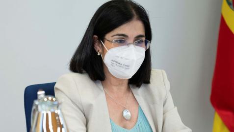 Carolina Darias, tras la celebración del Consejo Interterritorial