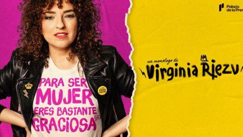 Cartel promocional del su espectáculo 'Para ser mujer, eres bastante graciosa'