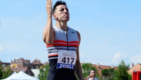 Sergio Fernández, el pasado 25 de junio, cuando se proclamó campeón de España por séptima vez y logró refrendar su billete olímpico