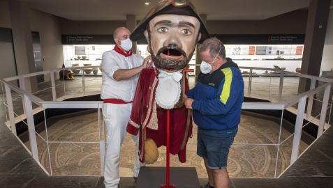El kiliki Barbas ocupa su lugar en el Museo.