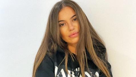 María Isabel, en una foto de su Instagram