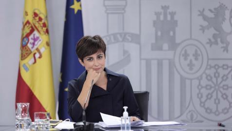 Isabel Rodríguez, ministra de Política Territorial