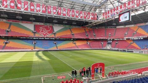 Interior del Amsterdam Arena, estadio del Ajax