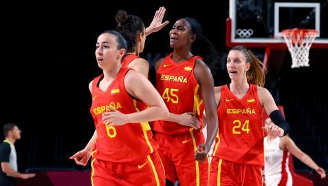 La selección femenina de baloncesto ya está en cuartos de final de los Juegos
