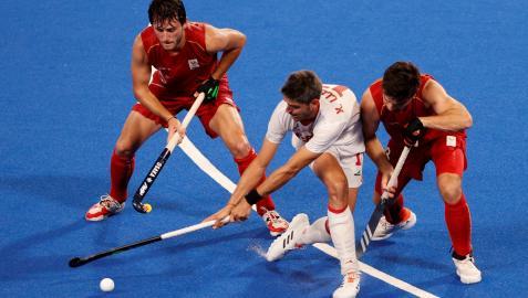 La selección española masculina de hockey hierba se marcha de Tokio con un diploma olímpico
