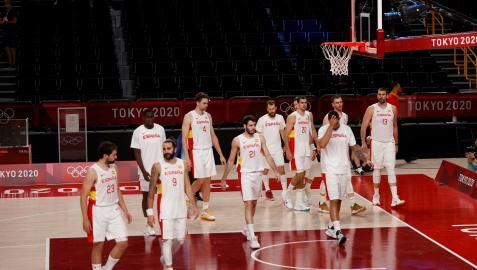 España se enfrentará a Estados Unidos tras su derrota contra Eslovenia