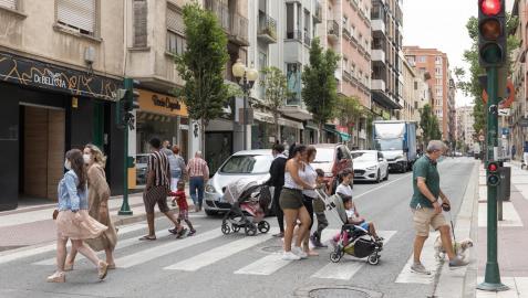 Navarra comienza a contener la quinta ola de contagios de covid-19