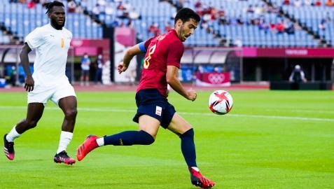 Mikel Merino hizo una aportación clave en cuartos de final que llevó a España a marcar el primer gol