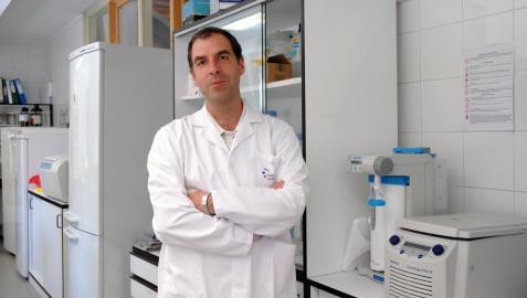 David Escors Murugarren, virólogo del centro de investigación Navarrabiomed