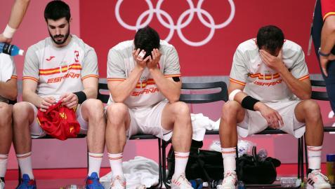 La selección solo podrá optar al bronce tras su derrota contra Dinamarca