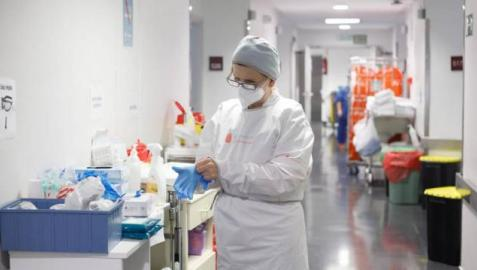 Un nuevo fallecido en un día en el que aumentan los casos de coronavirus en Navarra