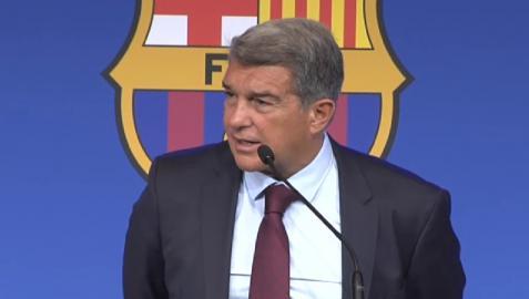 El presidente del Barça achaca la marcha del jugador a la mala situación económica de la entidad y a LaLiga