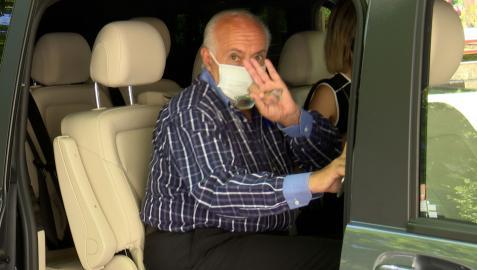 José Luis Moreno saliendo de los juzgados el pasado 4 de agosto