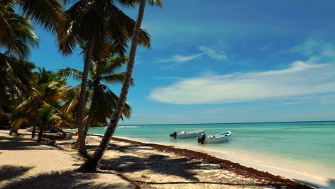 Una de las playas de Punta Cana, en República Dominicana