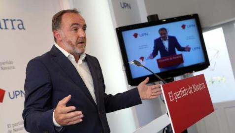 Esparza (UPN) exige al presidente Pedro Sánchez
