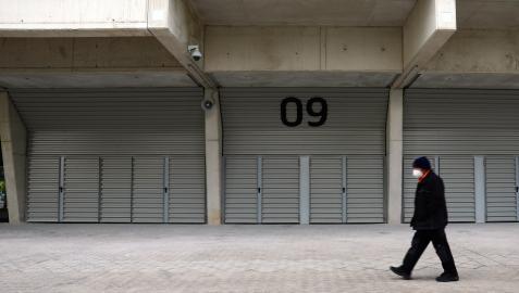 Osasuna colocó nueva señalización en los accesos