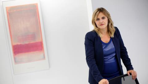 Sandra Aguirre, directora del Clúster Agroalimentario de Navarra
