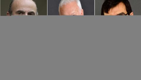 Luis de Guindos, José Manuel García Margallo, Juan González-Barba, Adriana Maldonado, Toni Roldán y Pablo Zalba