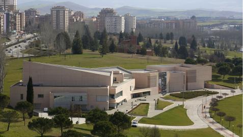 Museo Universidad de Navarra, situado en el campus universitario