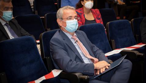 El embajador de Eslovenia en España, Rober Krmelj