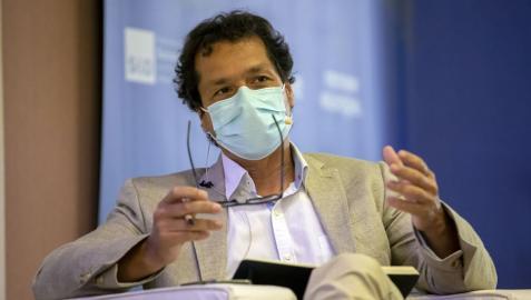José Ignacio Torreblanca, en una de sus intervenciones