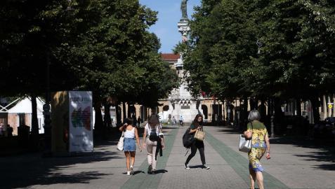 Los positivos diarios en Navarra han bajado del centenar en la última jornada