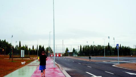 El ayuntamiento ha invertido mucho este año en la mejora de los accesos y el entorno del campo de fútbol