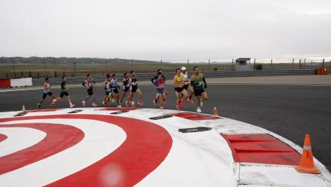 Los Arcos acogió, el pasado 31 de diciembre, el último  Campeonato Navarro de 10 kilómetros en ruta