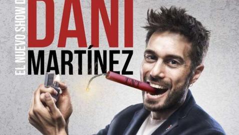 Dani Martínez, en el cartel promocional