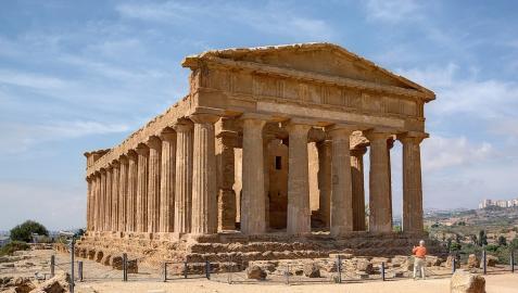 Templo de la Concordia, en Agrigento