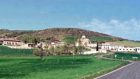 El pueblo de Arguiñano se encuentra en la zona norte del valle de Guesálaz.