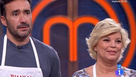 Juanma Castaño y Telelu Campos en Masterchef Celebrity