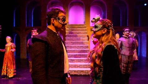 Momento del musical Romeo y Julieta