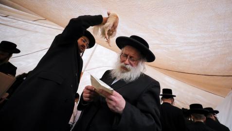 La fiesta judía del Yom Kippur es un día de expiación mediante el ayuno y la oración