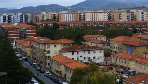 Vista general del barrio de la Txantrea