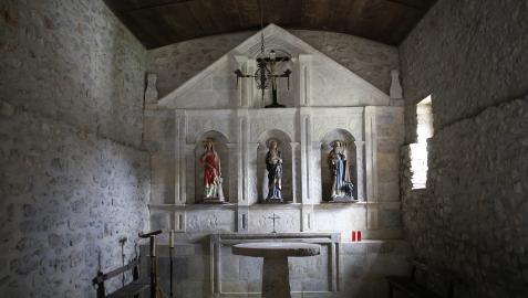 Ermita de Nuestra Señora de los Dolores en Saldías