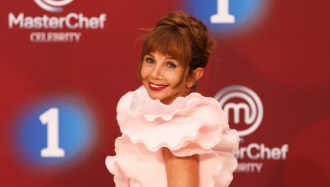 Victoria Abril, en la presentación de la nueva temporada de MasterChef Celebrity.