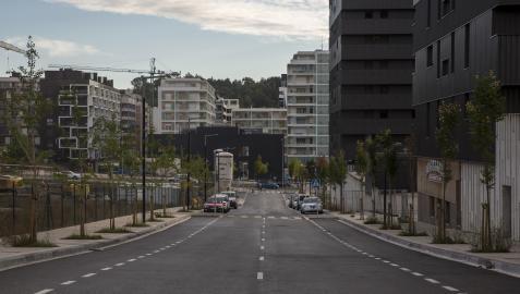 Nueva calle de Lezkairu