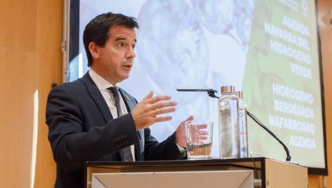 Mikel Irujo, consejero de Desarrollo Económico y Empresarial