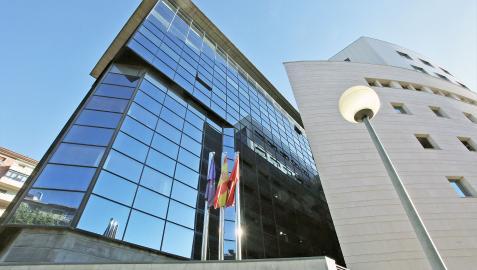 Sede del Palacio de Justicia de Pamplona