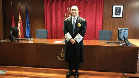 El nuevo magistrado, José Manuel Izquierdo Salvatierra