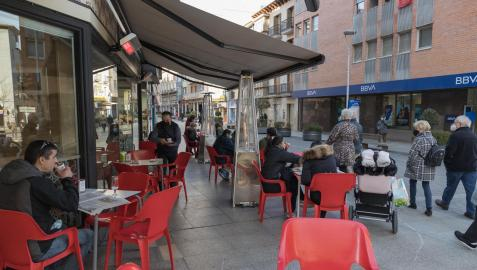 Los contagios diarios de la quinta ola de la pandemia comienzan remitir en Navarra