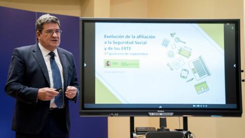 El ministro de Seguridad Social, José Luis Escrivá, en una imagen reciente