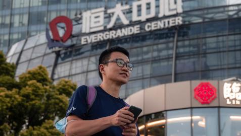 La promotora inmobiliaria china Evergrande se enfrenta a deudas millonarias.