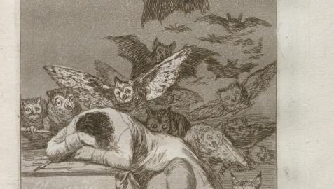 Grabado de 'Los Caprichos' de Goya  AYUNTAMIENTO DE SANTANDER  22/09/2021