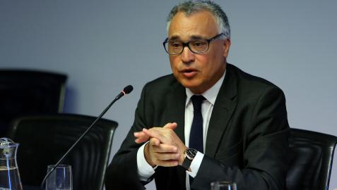 Javier Enériz, en una comparecencia parlamentaria anterior