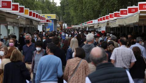 Las casetas de la Feria del Libro de Madrid han permanecido abiertas 17 días