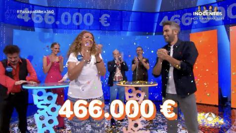La concursante Sofía Álvarez gana el bote de `Pasapalabra