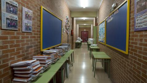 Comienzo de curso en el Colegio de Azpilagaña