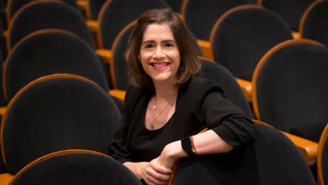 La cardióloga Nahikari Salterain González, especialista en el departamento de Cardiología de la CUN